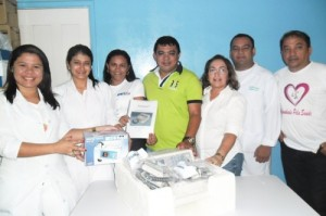 Secretaria de Saúde entrega Cardioversor e um Oxímetro de pulso no Hospital Antônio Ferraz