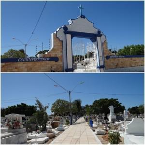 Prefeitura realiza limpeza geral no Cemitério Monsenhor Honório