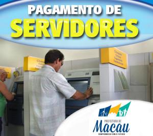 Folha dos servidores da Prefeitura de Macau começa a ser paga hoje