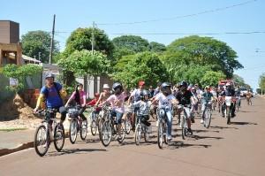 Prefeitura realiza passeio ciclístico na Semana Nacional de Trânsito
