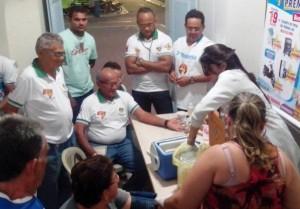 Terço dos Homens recebeu ação da Secretaria de Saúde de Macau