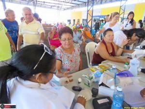 Secretaria de Saúde promove ação preventiva no Mercado