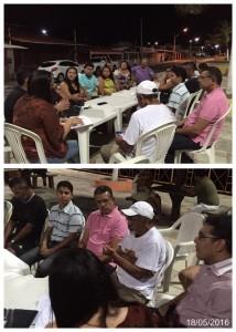 Prefeitura reúne comerciantes da praia de Camapum para discutir melhorias