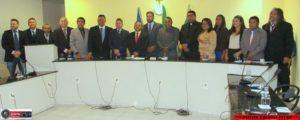 Cartão Cidadão, regionalização do Hospital e melhorias na Saúde pautaram mensagem do prefeito Tulio Lemos na Câmara Municipal