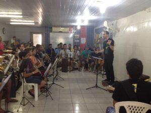 CULTURA: Alunos e músicos da Filarmônica Monsenhor Honório passam por Master Class de alto nível
