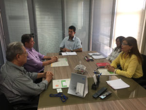 Emprego: Prefeito Tulio Lemos pede apoio ao SENAI para qualificar mão-de-obra